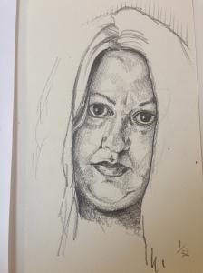 Self Portrait: Mummy #sketch52